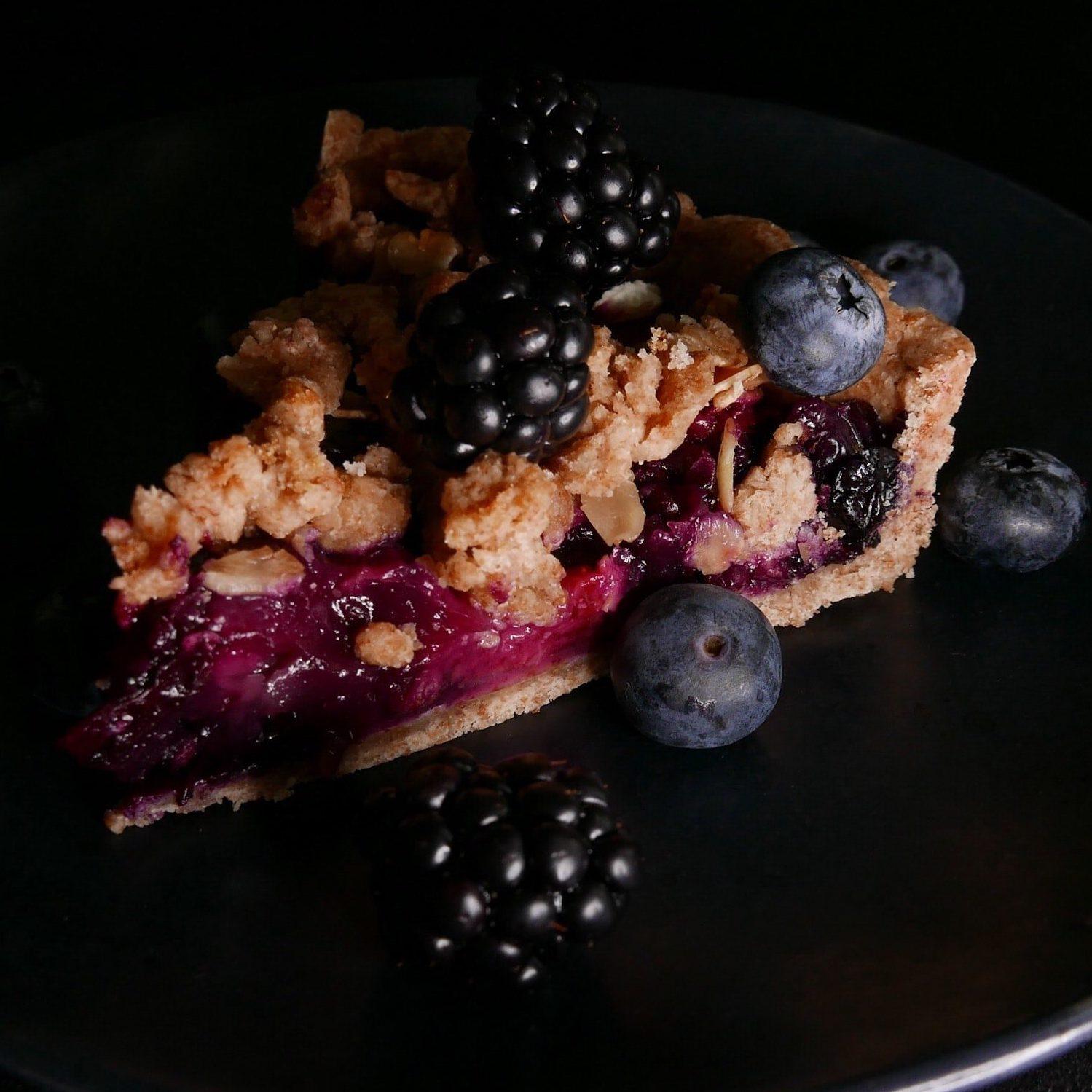 Berry Pie photo by Irina via Unsplash